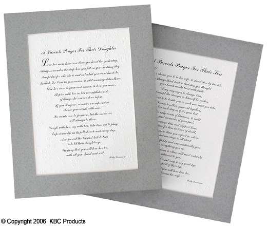 wedding poems essays son Amazoncom: to our son on your wedding day - poem print (8x10) - beautiful groom wedding gift from parents: posters & prints.